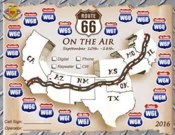 Route 66 Event - Work all 21 stations!